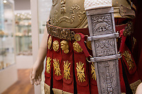 20170607 Biblical Museum - Roman Armor Exhibit