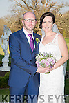 Katie O'Neil, Cahersiveen, daughter of Mike and Bridie O'Neill, and Thomas Chegwidden, Uk, son of Paul and Carolyne Chegwidden, were married at the Church of the Immaculate Conception Valentia by Fr. Larry Kelly on Thursday 9th April 2015 with a reception at Ballyseedy Castle