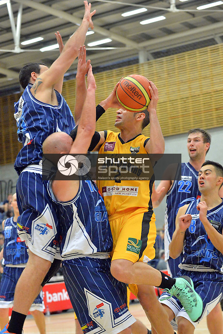 NBL Basketball Fico Finance Nelson Giants v Taranki Mountainairs, Saxton Stadium, Nelson,<br />