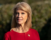 MAR 25 Kellyanne Conway speaks at the White House