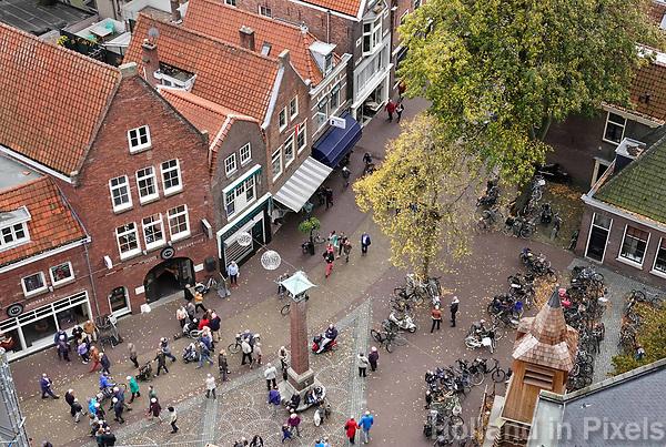 Nederland  Alkmaar -  Oktober 2018.  Alkmaar centrum.  Foto Berlinda van Dam / Hollandse Hoogte