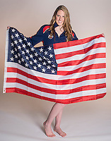 Four time Olympic Gold Medalist Swimmer Melissa Jeanette Franklin (cq) known as Missy Franklin (cq) at Regis Jesuit High School in Aurora, Colorado, Thursday, April 24, 2013. <br /> <br /> Photo by Matt Nager