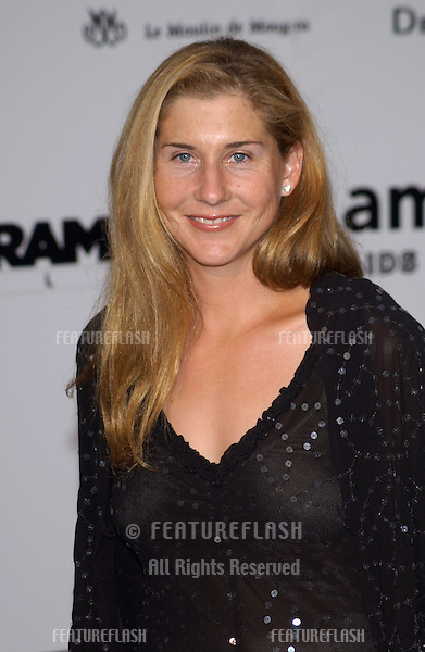 Tennis star MONICA SELES at Le Moulin de Mougins restaurant for amfAR's Cinema Against AIDS 2003 Gala..22MAY2003