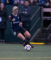Seattle, WA - Saturday March 24, 2018: Jessica Fishlock during a regular season National Women's Soccer League (NWSL) match between the Seattle Reign FC and the Washington Spirit at the UW Medicine Pitch at Memorial Stadium.