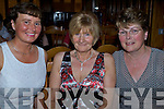 A Little Bit Country - Having a wonderful night out at the Country Music Weekend held in The Earl of Desmond on Friday night were l/r Cathy Troy, Noreen O'Connor and Mary Doyle......   Copyright Kerry's Eye 2008