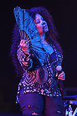 MIAMI GARDENS FL - MARCH 17: Chaka Khan performs during Day 1 at Jazz In The Gardens at Hand Rock Stadium on March 17, 2018 in Miami Gardens, Florida. : Credit Larry Marano © 2018