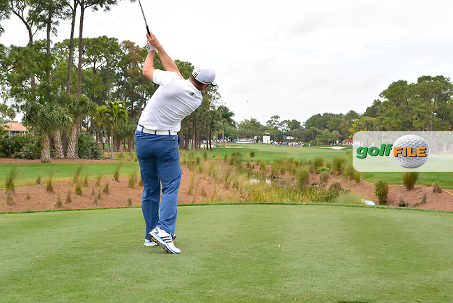 Sergio Garcia (ESP) during round 1 at the Honda Classic from PGA National, Palm Beach Gardens, Florida.<br /> Picture: Fran Caffrey / Golffile