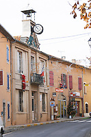 Les Corbieres. Languedoc. An empty street. France. Europe.