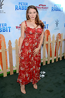 "LOS ANGELES - FEB 3:  Alexandra Vino at the ""Peter Rabbit"" Premiere at the Pacific Theaters at The Grove on February 3, 2018 in Los Angeles, CA"