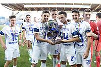 Reggio Emilia 11-06-2017 Mapei Stadium finale Campionato Calcio Primavera 2016/2017 Fiorentina - Inter foto Daniele Buffa/Image Sport/Insidefoto<br /> nella foto: Inter Esultanza
