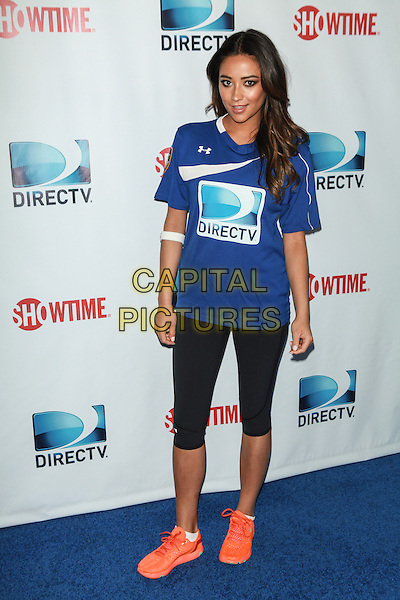 NEW YORK, NY - FEBRUARY 1: Shay Mitchell attends the DirecTV Beach Bowl at Pier 40 on February 1, 2014 in New York City. <br /> CAP/MPI/COR<br /> &copy;Corredor99/ MediaPunch/Capital Pictures