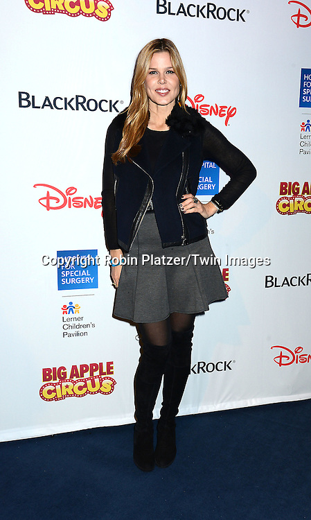 Mary-Alice Stephenson attends the Hospital for Special Surgery's 8th Annual  Big Apple Circus Benefit on December 6, 2014 at Damrosch Park in Lincoln Center  in New York City, USA.<br /> <br /> photo by Robin Platzer/Twin Images<br />  <br /> phone number 212-935-0770