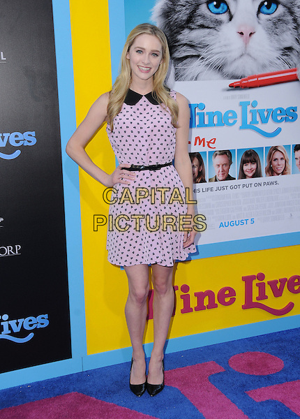01 August 2016 - Hollywood, California. Greer Grammer. World premiere of &quot;Nine Lives&quot; held at the TCL Chinese Theatre. <br /> CAP/ADM/BT<br /> &copy;BT/ADM/Capital Pictures