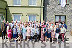 A GATHERING OF THE CLAN:  Kenmare's Brook Lane Hotel played host last Sunday to a gathering of the clan O'Donoghues as 53 of them travelled from all corners of the globe for their reunion.
