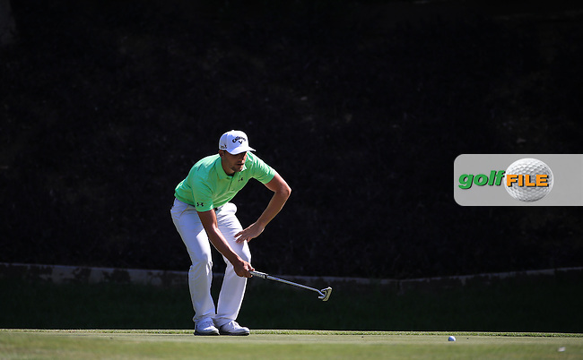 Haydn Porteous (RSA) in action during the Final Round of the 2016 Tshwane Open, played at the Pretoria Country Club, Waterkloof, Pretoria, South Africa.  14/02/2016. Picture: Golffile | David Lloyd<br /> <br /> All photos usage must carry mandatory copyright credit (&copy; Golffile | David Lloyd)