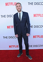 "29 March 2017 - Los Angeles, California - Charlie McDowell.  Premiere Of Netflix's ""The Discovery"" held at The Vista Theater in Los Angeles. Photo Credit: Birdie Thompson/AdMedia"