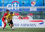 Wellington Phoenix vs HKFA U-18 during day two of the HKFC Citibank Soccer Sevens 2015 on May 30, 2015 at the Hong Kong Football Club in Hong Kong, China. Photo by Xaume Olleros / Power Sport Images