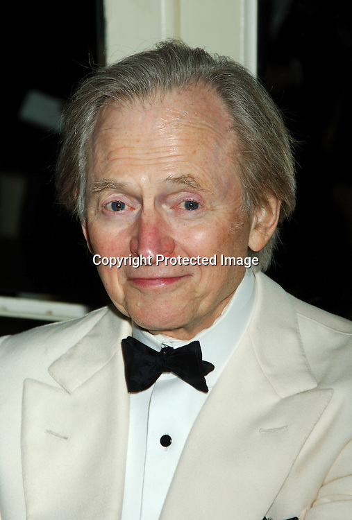 Tom Wolfe..at The Magazine Publishers of America and American Society of Magazine Editors  Awards Dinner on January 25, 2006 at The Waldorf Astoria Hotel. ..Photo by Robin Platzer, Twin Images