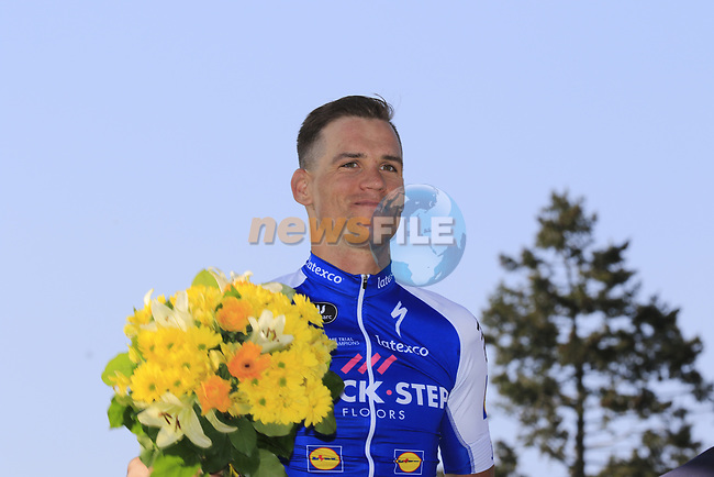 Zdenek Stybar (CZE) Quick-Step Floors finishes in 2nd place at the end of the 115th edition of the Paris-Roubaix 2017 race running 257km from Compiegne to Roubaix, France. 9th April 2017.<br /> Picture: Eoin Clarke | Cyclefile<br /> <br /> <br /> All photos usage must carry mandatory copyright credit (&copy; Cyclefile | Eoin Clarke)