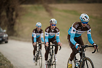 race reconnaissance 1 day prior to the 13th Strade Bianche 2019 (1.UWT)<br /> One day race from Siena to Siena (184km)<br /> <br /> ©kramon