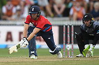 England's Dawid Malan.<br /> New Zealand Black Caps v England.Tri-Series International Twenty20 cricket. Eden Park, Auckland, New Zealand. Sunday 18 February 2018. &copy; Copyright Photo: Andrew Cornaga / www.Photosport.nz