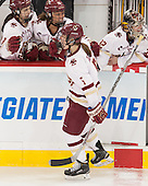 Alex Carpenter (BC - 5) - The Boston College Eagles defeated the Northeastern University Huskies 5-1 (EN) in their NCAA Quarterfinal on Saturday, March 12, 2016, at Kelley Rink in Conte Forum in Boston, Massachusetts.