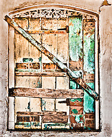 A characterful old weathered door. (Photo by Matt Considine - Images of Asia Collection)