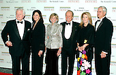 Washington, D.C. - December 2, 2006 -- From left: United States Senator Edward M. Kennedy (Democrat of Massachusetts), his wife Victoria, his sister Jean Kennedy Smith, George Stevens Jr., the founder and producer of the Kennedy Center Honors, Caroline Kennedy Schlossberg and her husband Edwin Schlossberg arrive for the State Department Dinner for the 29th Kennedy Center Honors dinner at the Department of State in Washington, D.C. on Saturday evening, December 2, 2006.  Andrew Lloyd Webber, Zubin Mehta, Dolly Parton, Smokey Robinson and Stephen Spielberg are being honored in 2006 for their contribution to American culture..Credit: Ron Sachs / CNP