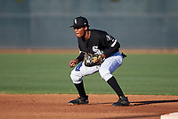 AZL White Sox shortstop Samil Polanco (13) during an Arizona League game against the AZL Royals at Camelback Ranch on June 19, 2019 in Glendale, Arizona. AZL White Sox defeated AZL Royals 4-2. (Zachary Lucy/Four Seam Images)
