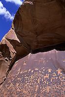 Newspaper Rock, Canyonlands National Park, Utah