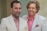 James Costos y su novio Michael Smith. El primero es embajador de Estados Unidos en España