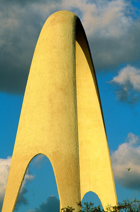 Sunshine State Arch. Designed by Charles Giller and OK Houston in 1964.