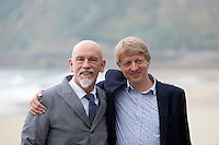 US actor John Malkovich and director Michael Sturminger present the film 'Casanova Variations' during the 62st San Sebastian Film Festival in San Sebastian, Spain. September 22, 2014. (ALTERPHOTOS/Caro Marin)