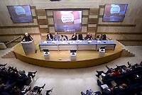 Roma, 24 Ottobre 2015<br /> Assembea nazionale di sinistra Ecologia e Libertà al centro congressi Frentani.