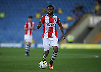 Joel Grant of Exeter City during the The Checkatrade Trophy match between Oxford United and Exeter City at the Kassam Stadium, Oxford, England on 30 August 2016. Photo by Andy Rowland / PRiME Media Images.