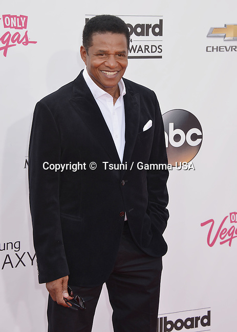 Jackie Jackson at the  2014-Billboard Music Awards at the MGM Grand Arena in Las Vegas.