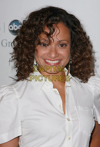 JUDY REYES.Disney, ABC Television Group All Star Party held at the Beverly Hilton Hotel,Beverly Hills, California, USA..July 17th, 2008.headshot portrait white shirt .CAP/ADM/CH.©Charles Harris/AdMedia/Capital Pictures