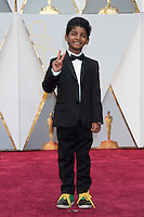 www.acepixs.com<br /> <br /> February 26 2017, Hollywood CA<br /> <br /> Sunny Pawar arriving at the 89th Annual Academy Awards at Hollywood &amp; Highland Center on February 26, 2017 in Hollywood, California.<br /> <br /> By Line: Z17/ACE Pictures<br /> <br /> <br /> ACE Pictures Inc<br /> Tel: 6467670430<br /> Email: info@acepixs.com<br /> www.acepixs.com