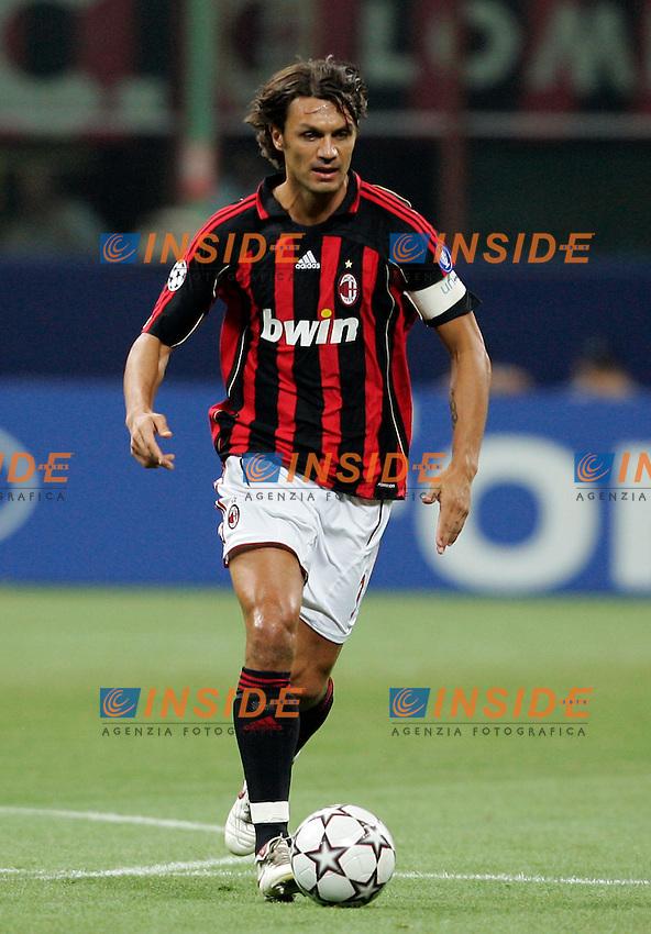 Milano 13/9/2006 Champions League 2006/2007 Group H - Matchday 1. Milan Aek Atene 3-0. Foto Andrea Staccioli INSIDE<br /> Paolo MALDINI Milan