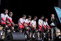 pre race Team Presentation Team Cofidis. <br /> <br /> 62nd E3 Harelbeke 2019 (1.UWT)<br /> Harelbeke – Harelbeke: 203,9km<br /> ©kramon