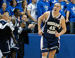 30 January 2008:  BYU forward, Jonathan Tavernari (45), during the Cougar's 69-53 victory over the Air Force Falcons at Clune Arena, Air Force Academy, Colorado Springs, Colorado.