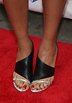 Barrett Doss, shoe detail, attends the 73rd Annual Theatre World Awards at The Imperial Theatre on June 5, 2017 in New York City.