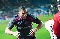 Picture by Allan McKenzie/SWpix.com - 08/02/2018 - Rugby League - Betfred Super League - Leeds Rhinos v Hull KR - Elland Road, Leeds, England - Shaun Lunt warms up.