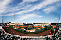 20 September 2012: General view of the Roger Dean Stadium prior to Spain 8-0 win over France, at the 2012 World Baseball Classic Qualifier round, in Jupiter, Florida, USA.