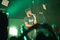 MIAMI BEACH, FL - AUGUST 02: Khalid performs onstage during the ' The American Teen Tour' at The Fillmore Miami Beach on August 2, 2017 in Miami Beach, Florida. Credit: MPI10 / MediaPunch