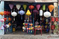 A paper lantern shop in Hoi An.