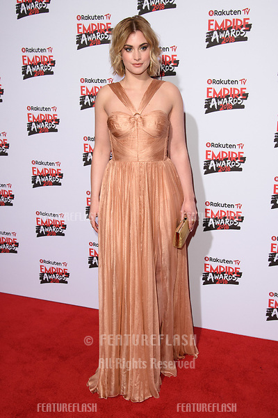 Stefani Martini arriving for the Empire Awards 2018 at the Roundhouse, Camden, London, UK. <br /> 18 March  2018<br /> Picture: Steve Vas/Featureflash/SilverHub 0208 004 5359 sales@silverhubmedia.com