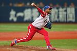 Odrisamer Despaigne (CUB), .February 27, 2013 - WBC : .2013 World Baseball Classic, Exhibithion Game .match between Cuba 3-2 Hanshin Tigers .at Kyocera Dome, Osaka, Japan..(Photo by AJPS/AFLO SPORT) [1045]