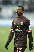 Football: Germany, 2. Bundesliga.FC St. Pauli .Joseph Claude Gyau (Fc St Pauli) .?Ǭ© pixathlon