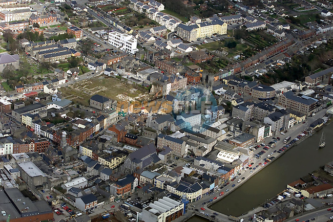 Ariel view of Drogheda 284Z9986..Picture Paul Mohan Newsfile.